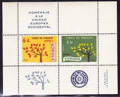 PARAGUAY  EUROPA 1962 ** MNH, NON OFFICIEL . (CL1J101) - 1962