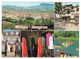CPA 12 Aveyron - Millau Vue Générale Depuis De Cause Noir - Millau