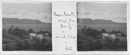 042 PP ALGERIE BOU-SAADA - Vue Du Bordj Avril 1930 - Glass Slides