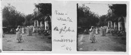 044 PP ALGERIE BOU-SAADA - La Grande Place Avril 1930 - Glass Slides