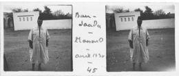 045 PP ALGERIE BOU-SAADA - MASSOUD  Avril 1930 - Plaques De Verre