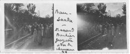 046 PP ALGERIE BOU-SAADA - A Dos De Chameau Avril 1930 - Glass Slides