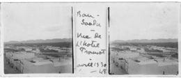 048 PP ALGERIE BOU-SAADA - Vue De L'Hôtel Transatlantique   Avril 1930 - Glass Slides