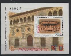 LOT 674 - ESPAGNE BF  104 **  - EXPOSITIONS PHILATELIQUES  - SCUPTURES - Philatelic Exhibitions