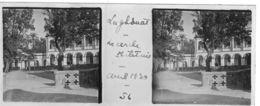 056 PP ALGERIE LAGHOUAT - Le Cercle Militaire Avril 1930 - Glass Slides