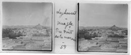 058 PP ALGERIE LAGHOUAT - Vue Générale Du Toit De La Mosquée - Glass Slides