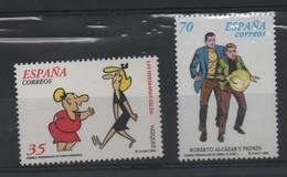 LOT 674 - ESPAGNE N° 3279/3280 **  - BANDES DESSINEES - Comics