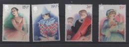 LOT 674 - GRANDE BRETAGNE N° 1043/1046  ** - EUROPA : DANSEUSE - PIERROT - THEATRE - 1982