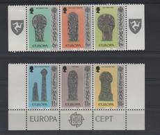LOT 674 - MAN  N°120/125  ** -  EUROPA 1978 - TOMBAUX - Europa-CEPT