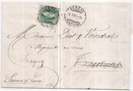 868 - Pour La France - 1882-1906 Wappen, Stehende Helvetia & UPU