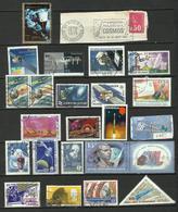 ESPACE SPACE Lot De Timbres & Documents - 5 Scans à Examiner - Space
