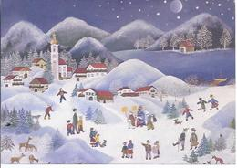 Leonore Esder - Die Sternsinger - SOS Kinderdorf       **AK-91000-90** - Künstlerkarten