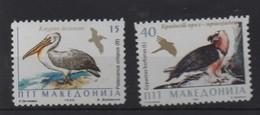 LOT 674 - MACEDOINE  N° 54/55 **  - PELICAN - RAPACE - Pelicans