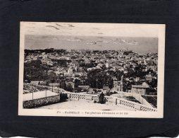 """76622    Francia,   Marseille,  Vue Generale D""""Endoume Et Les Iles,  VG  1938 - Endoume, Roucas, Corniche, Plages"""