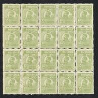Romania 1920 / 27 Mi.no 266 Block X20 MNH - 1918-1948 Ferdinand I., Charles II & Michel
