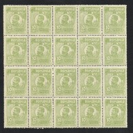 Romania 1920 / 27 Mi.no 266 Block X20 MNH - 1918-1948 Ferdinand, Carol II. & Mihai I.