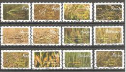 FRANCE 2017 : MOISSON DE CEREALES / SERIE COMPLETE Oblitérée - Adhesive Stamps