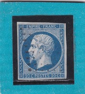 N° 14 A    PC XXXX  - REF 12118  +  VARIETE - 1853-1860 Napoléon III