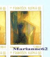 """France 2018 TP """" Plans Par Couleurs """" Frantisek Kupka - Art Peinture Paint Painting MNH-Neuf - Moderne"""