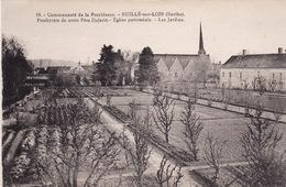 SARTHE-RUILLE-SUR-LOIR-190301-PRESBYTERE DU PERE DUJARIE-EGLISE-NON ECRITE- - France
