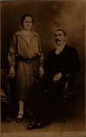 ROMANIA - ORIGINAL PHOTO POSTCARD FORMAT - FAMILIE DIN BUCURESTI - Photographs