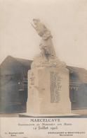 80 - MARCELCAVE - Inauguration Du Monument Aux Morts 12 Juillet 1925 (carte Photo) - Autres Communes