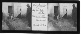 063 PP ALGERIE LAGHOUAT Les Ouled Naïls Au Quartier Réservé - Avril 1930 - Glass Slides