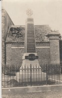 80 - SOREL - Monument Aux Morts (carte Photo) - Autres Communes