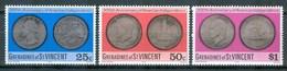 1976 St.Vincent E Grenadine Coins On The Stamps Monnaie Sur Le Timbres Set MNH** B232 - St.Vincent E Grenadine