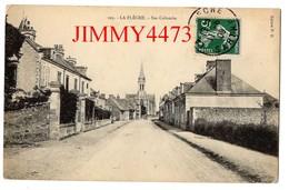 CPA - Grande Rue Et Eglise Sainte Colombe En 1909 - LA FLECHE 72 Sarthe - N° 102 - Edit. P. D. - La Fleche