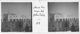 078 PP ALGERIE Place Du Marché De GHARDAÏA Avril 1930 - Glass Slides