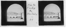 079 PP ALGERIE Vue De L'Hôtel De GHARDAÏA Avril 1930 - Glass Slides