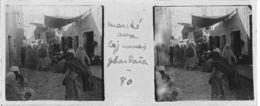 080 PP ALGERIE Marché Aux  Légumes De GHARDAÏA Avril 1930 - Glass Slides