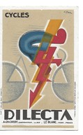 Tres Belle Carte Postale  CYCLES DILECTA - Publicidad