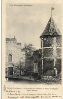 80 La Picardie Illustrée - VILLERS-CARBONNEL - Les Restes Du Château Et Porte De L'Eglise - Carte Précurseur - Autres Communes