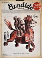 CANDIDO - N° 31 - 3 AGOSTO 1952 - TOGLIATTI LONGO E SECCHIA - Libri, Riviste, Fumetti