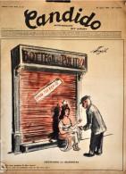 CANDIDO - N° 34 - 24 AGOSTO 1952 - ASPETTANDO LA RIAPERTURA - Libri, Riviste, Fumetti