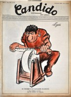 CANDIDO - N° 36 - 7 SETTEMBRE 1952 - DI VITTORIO E LE AGITAZIONI D'AUTUNNO - Libri, Riviste, Fumetti