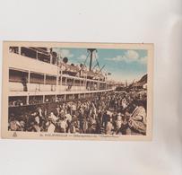 (R7) ALGERIE ,PHILIPPEVILLE , Débarquement Du Charles Roux - Algeria