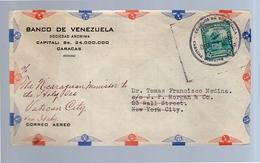 Caracas 1946 > New York Nicarague Ministerv> Resent To Vatican CITY (201) - Venezuela