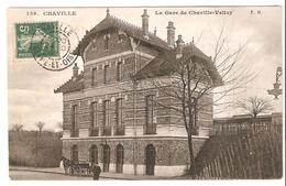 Chaville - La Gare De Chaville -Velizy 1907 - Chaville