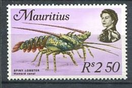 222 MAURICE 1969 - Yvert 344 - Crustace Langouste - Neuf ** (MNH) Sans Trace De Charniere - Mauritius (1968-...)