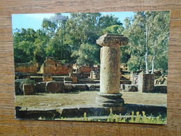 """Algérie , Tipaza , Ruines Romaines """""""" Beaux Timbres """""""" - Algeria"""