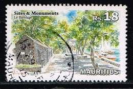 Mauritius 2013, Michel# 1140 O     Sites And Monuments: Le Batelage - Mauritius (1968-...)