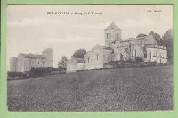 PORT D'ENVAUX : Bourg De Saint Saturnin. St. TBE. 2 Scans. Edition Latour - Andere Gemeenten