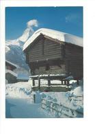 19581 - Winkelmatten Mit Matterhorn Mazot (Format 10X15) - VS Valais
