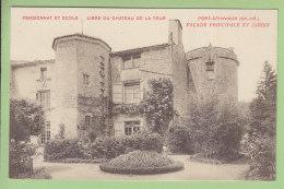 PORT D'ENVAUX : Pensionnat Et Ecole Libre Du Château De La Tour. Façade Principale Et Jardin. TBE. 2 Scans. Ed Benoît - France