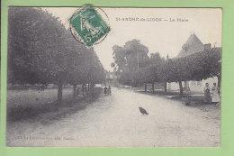 SAINT ANDRE DE LIDON : La Place. TBE. 2 Scans. Edition Guiastrennec - Andere Gemeenten