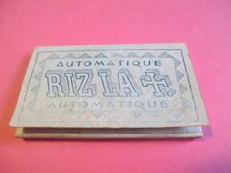 Carnet De Papier Cigarettes/RIZ LA +/Automatique/Pénurie De Couv./Présentation Provisoire/Angouléme/Vers1920-1950  CIG42 - Cigarettes - Accessoires