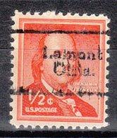 USA Precancel Vorausentwertung Preo, Locals Oklahoma, Lamont 702 - Vereinigte Staaten